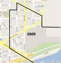 The new boundaries of ANC 6B09
