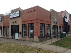 Current building at 401-403 15th Street SE. The owner wants to raze the current structure and replace with a retail-residential building.
