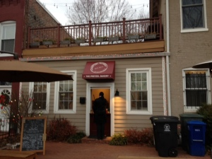 The Pretzel Bakery at 340 15th Street SE.