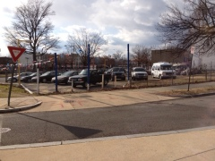 A used car lot is currently located at 1550 Pennsylvania Avenue SE.
